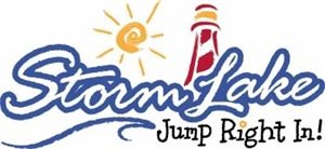 Storm Lake Jump Right In - Logo