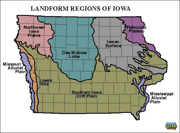 Central City Iowa Map
