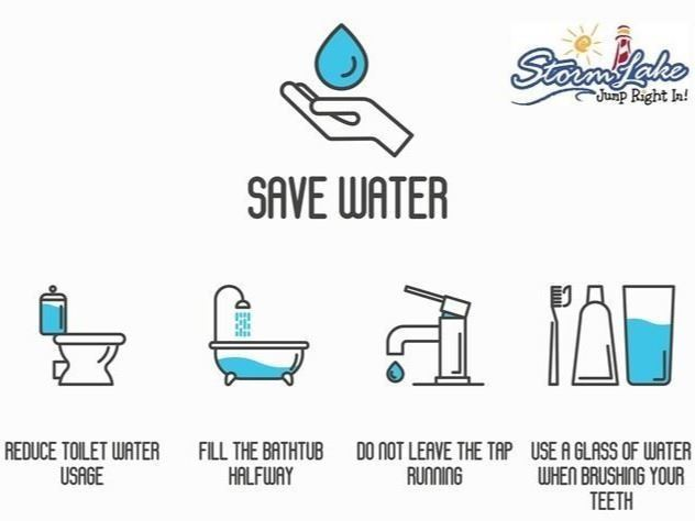 Save Water Tips - Reduce Water Usage Fill The Bathtub Halfway Do not leave the tap running Use a gla